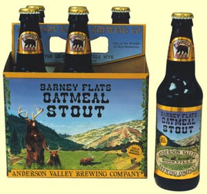 Anderson Valley Barney Flats Oatmeal Stout 6pks