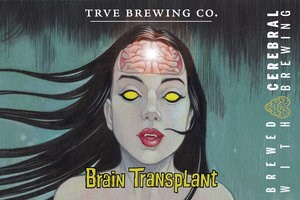 Trve Brewing Co./Cerebral Brewing Brain Transplant Dry Hopped Sour 375ml