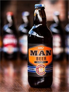 Bull & Bush Brewery - MAN BEER IPA 16.9oz
