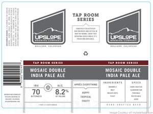 Upslope Brewing Co. - Mosaic Double IPA 19.2oz Can