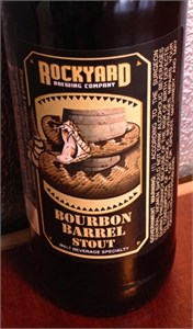 Rockyard Brewing Bourbon Barrel Stout